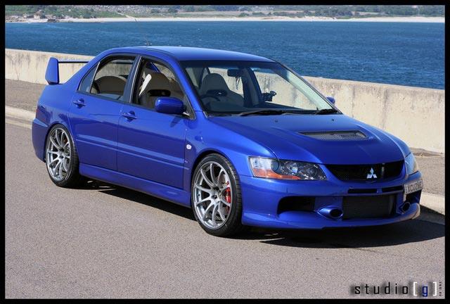what wheels to go for to suit blue evo ix mitsubishi lancer register forum - Mitsubishi Evo 9 Blue
