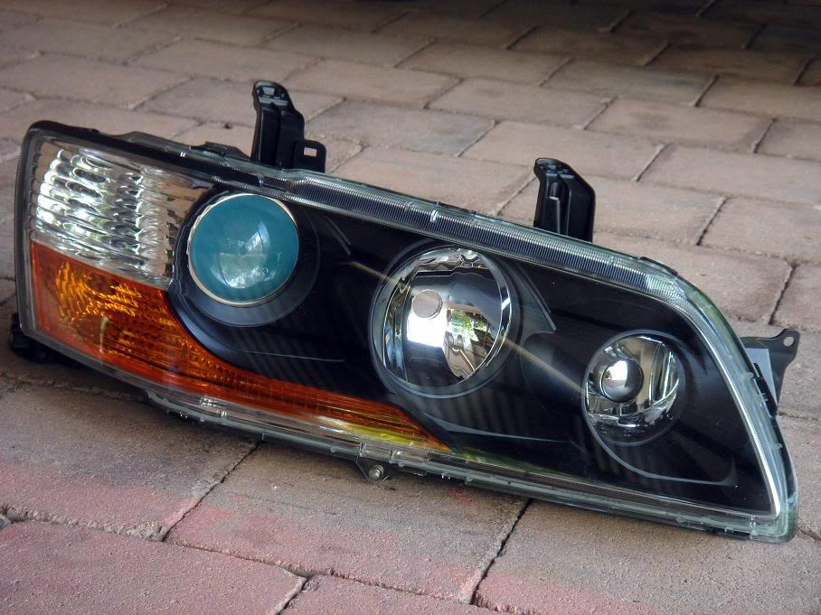 7/8/9 headlight colour change ( projector ) - mitsubishi lancer