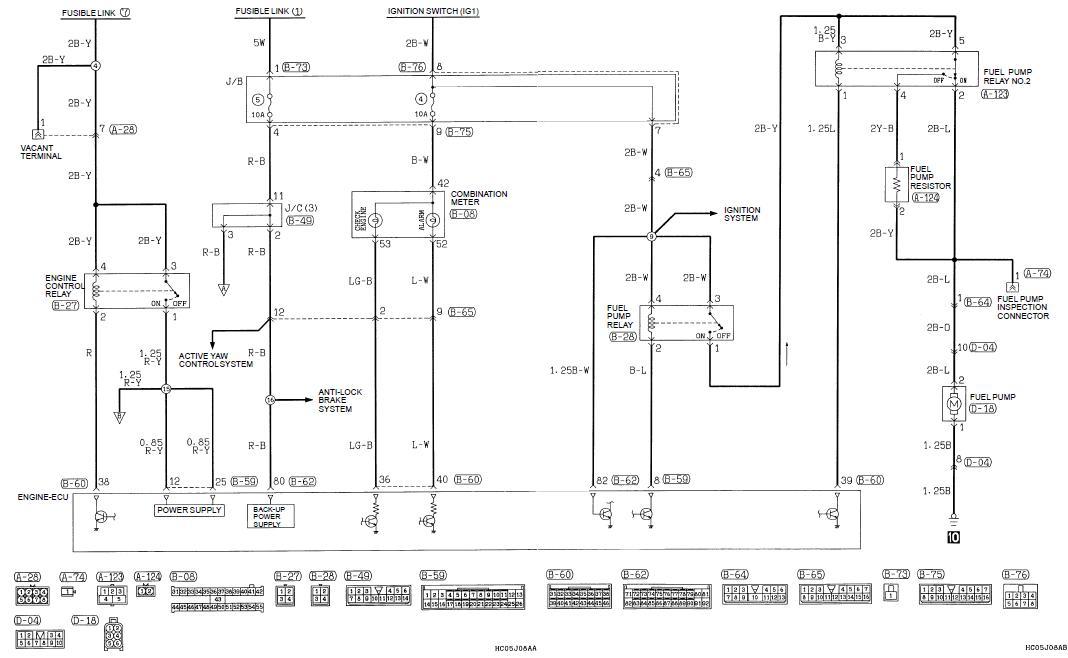 Fuel Pump Fuse And Relay Location Evo 4 Mitsubishi Lancer Register