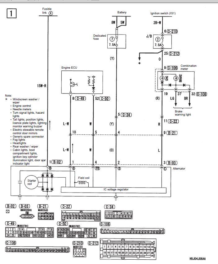 dash wiring problem guru needed mitsubishi lancer register forum attached images