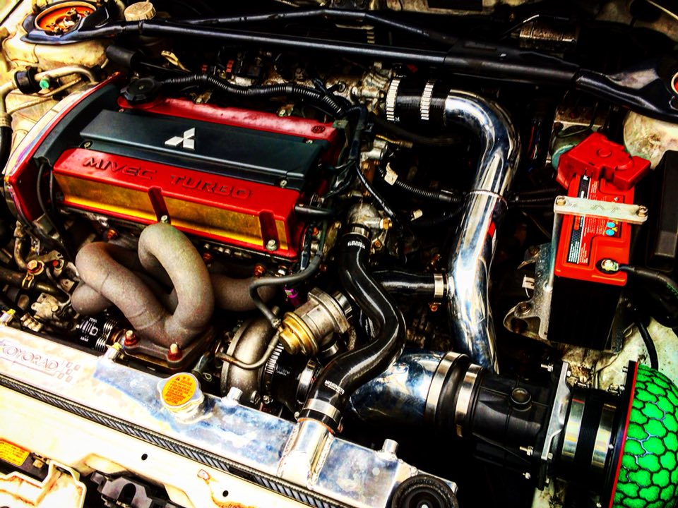 Name:  New engine bay Evo 9.jpg Views: 305 Size:  158.8 KB