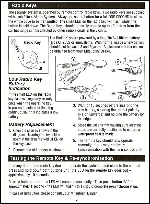 help need alarm manual for cobra - page 2 - mitsubishi lancer, Wiring diagram